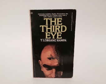 Vintage Occult Book The Third Eye by Lobsang Rampa 1974 Paperback