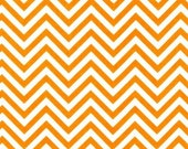 Remix Small Tangerine Chevron Cotton from Robert Kaufman
