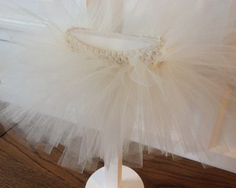Ivory tutu, timeless and classic
