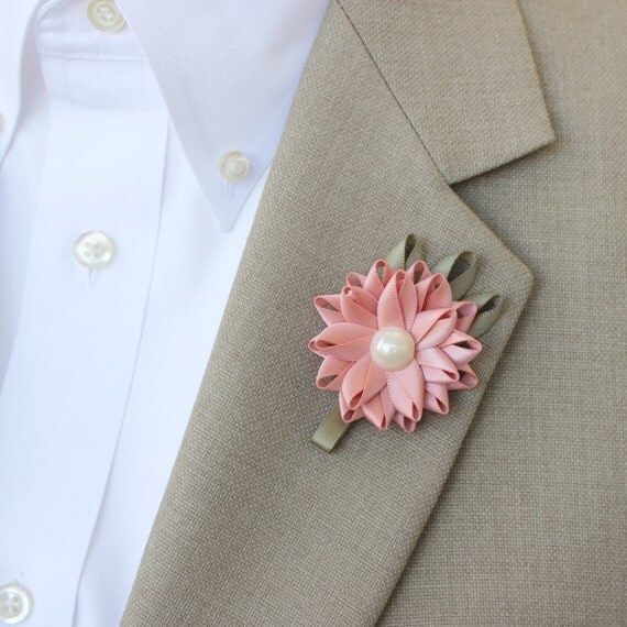 Wedding Flowers Men: Mens Boutonniere Wedding Boutonniere Mens Lapel Flowers