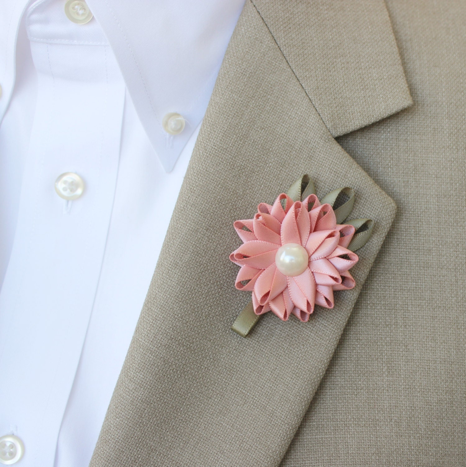 Mens Boutonniere Wedding Lapel Flowers For Men Custom Colors Father Of The Bride
