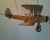 Reserved for Kathy H. A limited edition depiction of a vintage biplane.