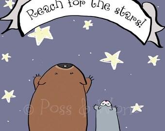 Fine art print Reach for the Stars