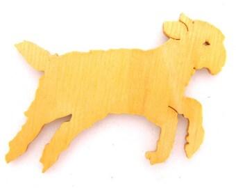 Lamb Cut Out, Lamb Magnet, Lamb Pin, Sheep Cut Out, Sheep Magnet, Sheep Pin, Farm Animal, Barn Animal, Christmas Ornament, Easter Ornament