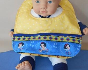 Snow White Baby Bib