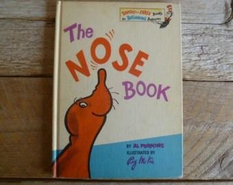 """Vintage """"The Nose Book""""  Hardback Childrens Book"""