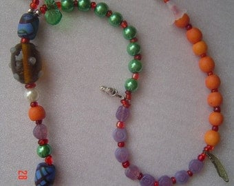 FOUR ELEMENTS Pagan PRAYER and Ritual Beads - Air, Fire, Water, Earth