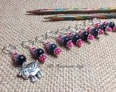 Sheep Stitch Marker Set | SNAG FREE Knitting Stitch Markers | Gift for Knitters