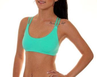 Sporty Tank - Double Ties  (any color)