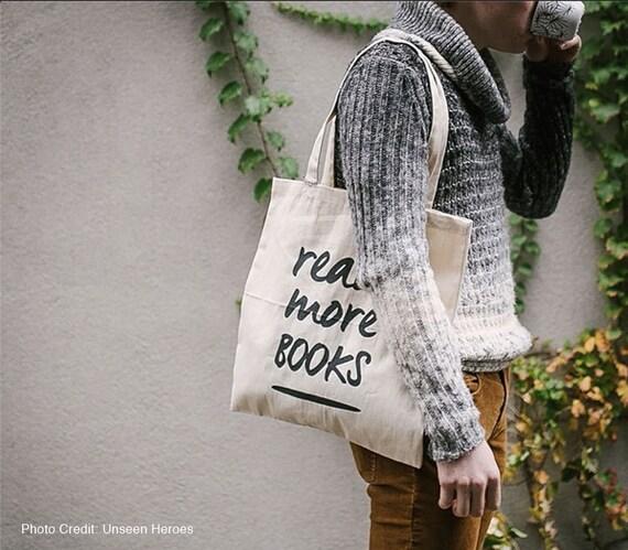 Read More Book Totebag