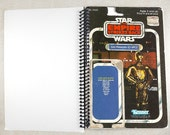 C-3PO Recycled Original Vintage Star Wars The Empire Strike Back Notebook/Journal