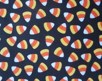 Riley Blake Candy Corn Fabric - Halloween Fabric