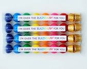 I'm Over The Rainbow For You Printable Tags - anna and blue paperie
