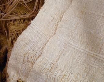 Special Raw Silk Fabric/shawl- Handmade