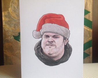 HODOR Christmas Card Game of Thrones
