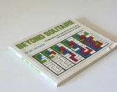 Beyond  Solitaire by Sid Sackson, Game Book, Colored Pens or Pencils.