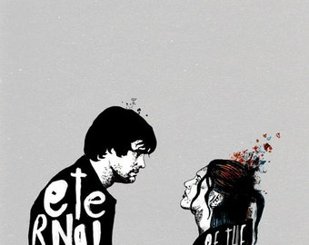 Eternal Sunshine of the Spotless Mind Film Poster A1 Giclee
