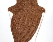Katniss INSPIRED Cowl / shrug  / tigress cowl/ shrug / bolero/ shawl / half sweater /Made to Order