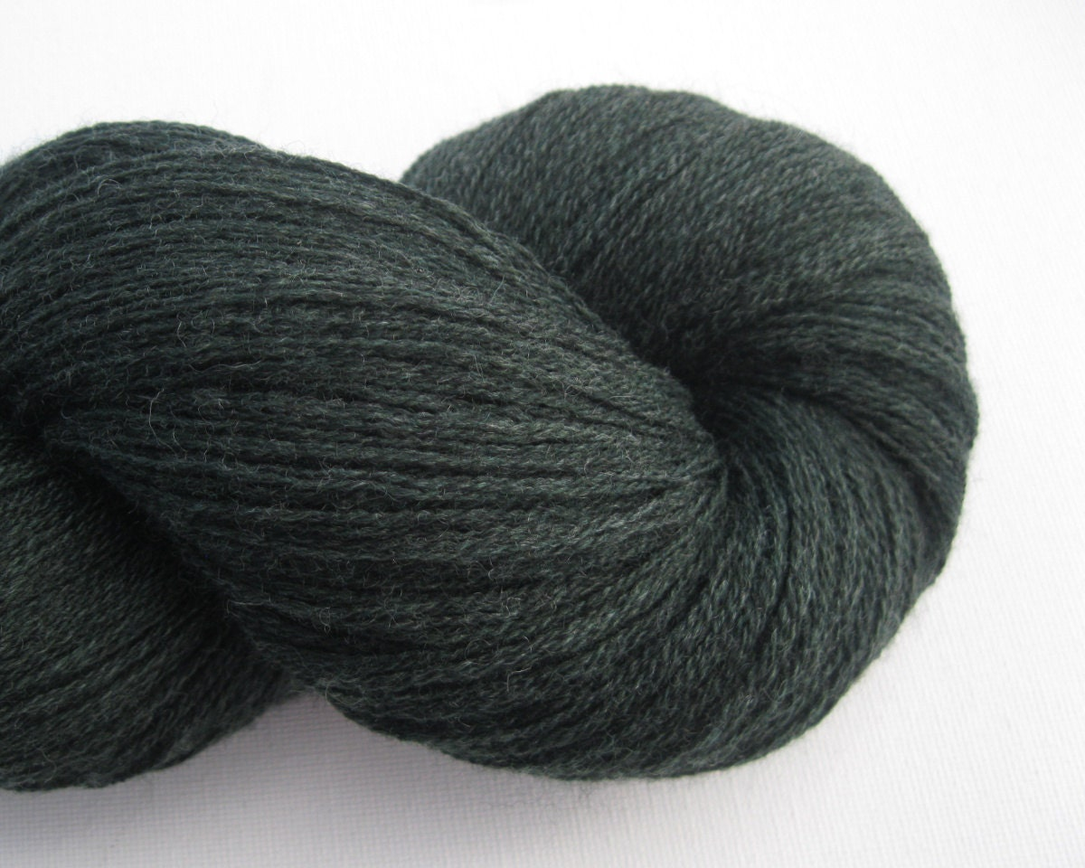 Fingering Weight Recycled Merino Wool Yarn by ThoughtfulRoseSupply