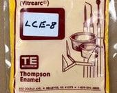 LCE8 YELLOW - 8 oz Dry Powder Form Liquid Enamel