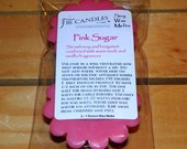 Pink Sugar Soy Wax Tart Melts - 2 Pack - Scented Wax Melts/Soy Tarts/Sweet Scent/Fruity Scent/Fragrant Tarts