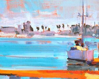 Coronado Sailboats - Landscape Painting