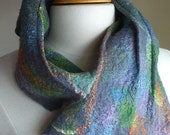 Felted cowl, neck warmer