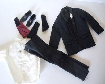 Ken Doll Tuxedo Outfit