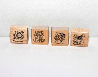 Love Grows -- Stampin Up --  Retired set from 1997 - Destash