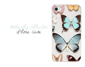 Butterfly iPhone Case, Butterfly iPhone 7 Plus  Case, Butterflies iPhone Case, Butterfly Gift Idea for Her, Pretty Shabby Chic iPhone Case