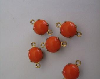 5 Orange Connectors