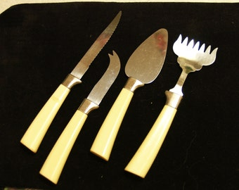 Sale Regent Sheffield Serving Set for Appetizers Cheese or Hor D'oevres