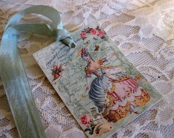 French Gift Tags,  Antoinette Gift Tags, Versailles Gift Tags, French Market Style, Vintage Tags,  Gift Tags, ECS
