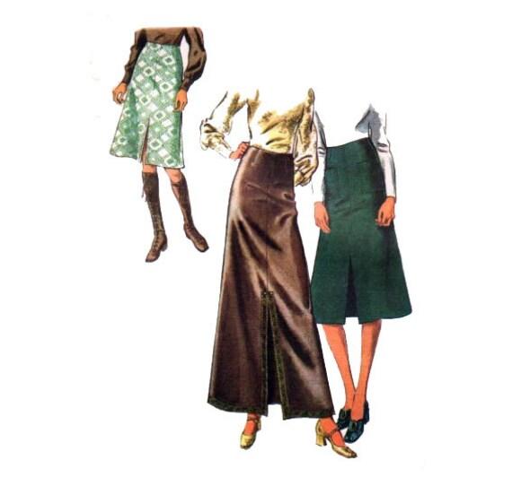 70s skirt pattern a line split maxi skirt with by honeymoonbus