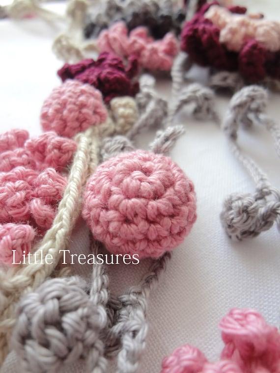 Crochet Flower Girl Basket Pattern : Crochet pattern flower girl headband