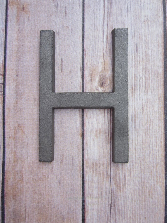 Vintage Letters Wall Decor : Cast iron metal letter wall art decor vintage style you pick