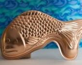 Fish Mold, Tin Mold, Cake Craft Mold