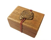 Personalized 5th Anniversary gift for him or her, Wood anniversary gift, Boyfriend gift idea, Love box, Key to your heart