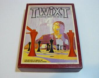 Twixt Bookshelf Game Vintage Space Age Retro Family Fun Avalon Hill 3M - 1976