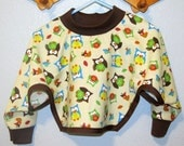 Baby & Toddler Pullover Bibs with Long Sleeves, Fits size 6 months to 2 years