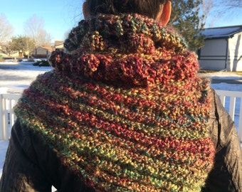 Katniss Inspired Cowl Neck Vest Scarf