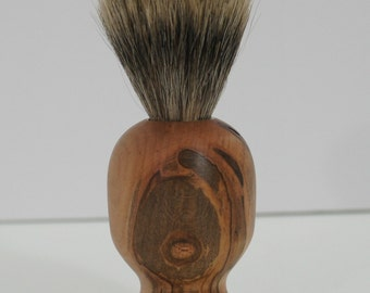 shaving brush, pure badger hair, ambrosia maple