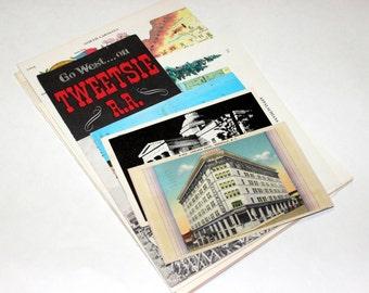 North Carolina - United States Vintage Travel Collage Kit