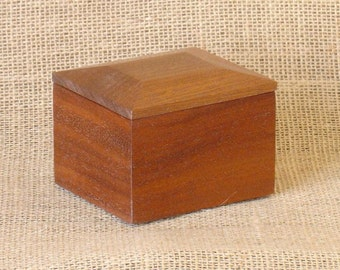 Sapele Small Box Number One
