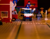 Lego Photograph - Superheroes - Limited Edition print no 61/125