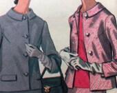 Vintage Pattern Sewing RETRO Suit McCalls 1968 No. 9566 Size 20 1/2 Jacket Skirt Blouse Vintage 60s SUIT Pattern Sewing Pattern 60s