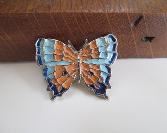 Vintage Butterfly Scarf Pin/Tack