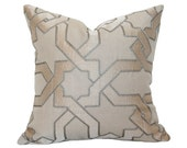 Cordoba Embroidery Stone Pillow Cover (Single-Sided) - Made-to-Order