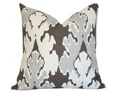 Bengal Bazaar Grey Pillow Cover (Single-Sided) - Made-to-Order