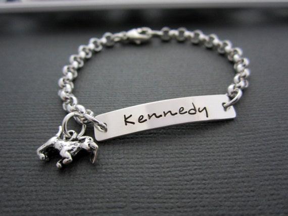 Baby Boy Gifts Jewelry : Jewelry baby bracelet personalized kids id by